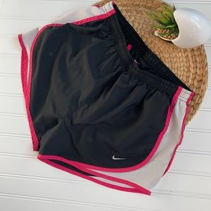 Nike Tempo Dri-Fit Running Shorts Black Pink S